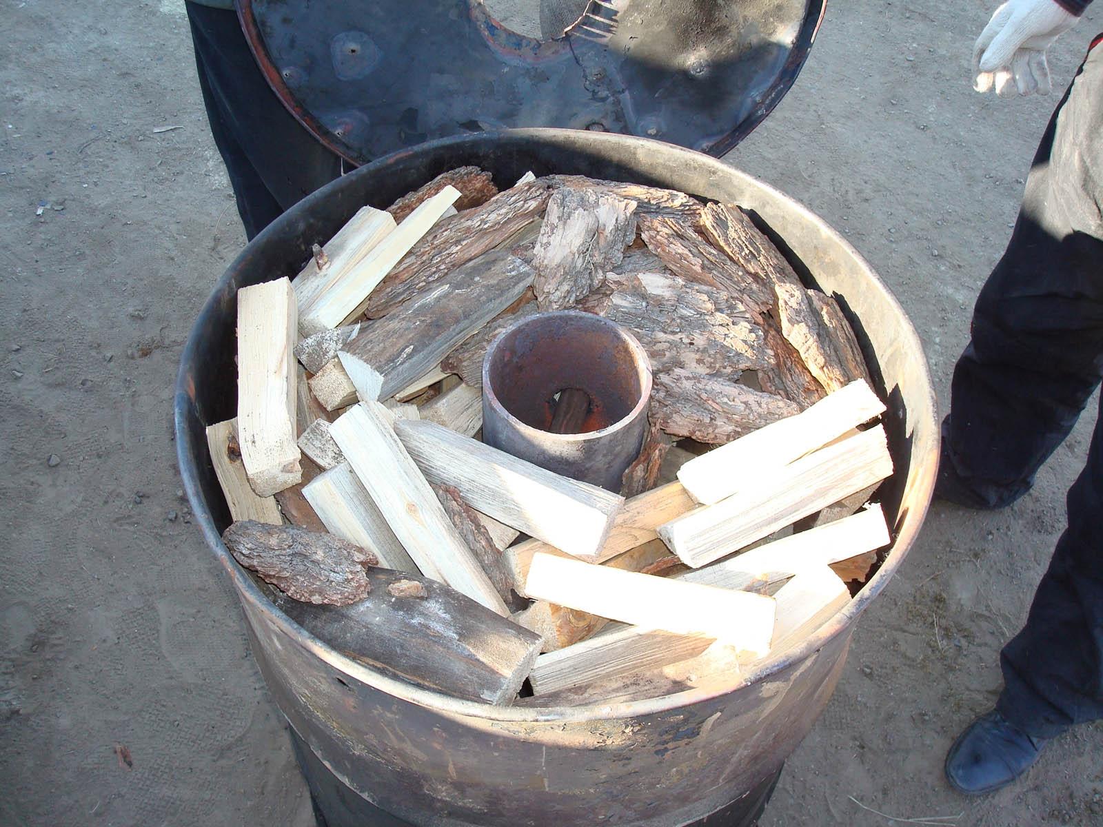 Sawdust Stove Plans ~ Biochar ovens